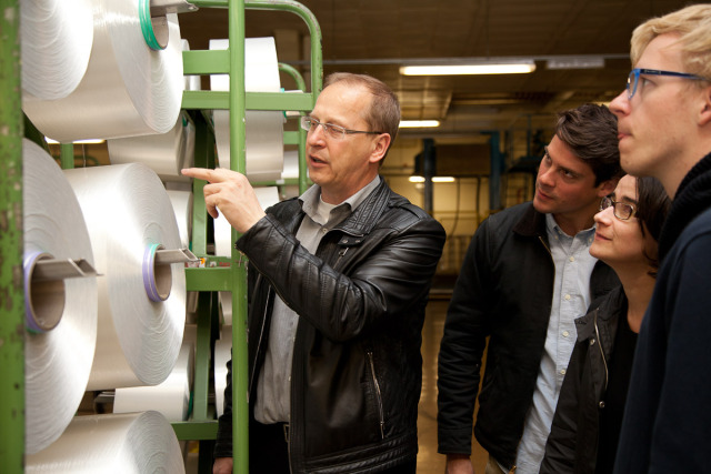 A tour of the Trevira fibre production plant